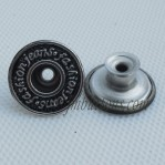 Wholeasle Move Stainless Steel Buttons For Jeans