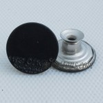 Wholesale Black Move Stainless Steel Buttons For Denim