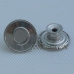 Wholesale Circle Stainless Steel Denim Button