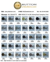 Stainless Steel Buttons(0025-0050)