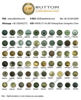 Zinc Alloy Metal Jeans Buttons(00181-0240)