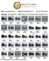 Zinc Alloy Metal Jeans Buttons(0030-0063)