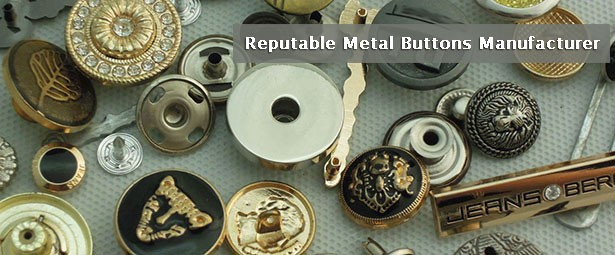 Reputable Metal Buttons Manufacturer